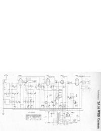 Instrukcja serwisowa, schemat cirquit tylko Telefunken TA 55 WKK Carmen