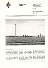 Технический паспорт Telefunken A 1147