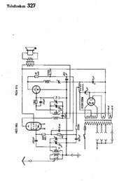 Cirquit diagramu Telefunken 327