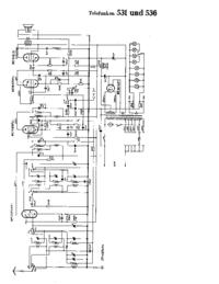 Schema Telefunken 531