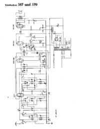 Cirquit diagramu Telefunken 567