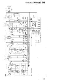 Cirquit Diagramma Telefunken 568