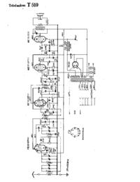 Schéma cirquit Telefunken 510
