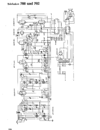 Cirquit Diagram Telefunken 792