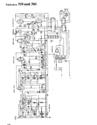 Cirquit Diagram Telefunken 779
