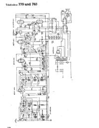 Cirquit diagramu Telefunken 783