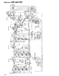 Cirquit Diagram Telefunken 645