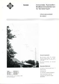 Hoja de datos Telefunken ADP 0440/1