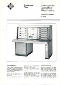 Datasheet Telefunken AFR1200
