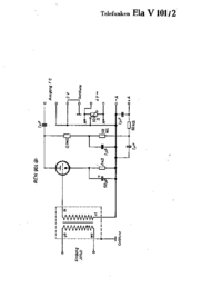 Cirquit Diagram Telefunken Ela V101/2