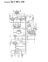 Cirquit Diagram Telefunken Ela V2110