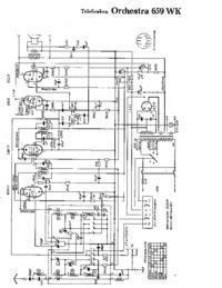 Схема Cirquit Telefunken Orchestra 659 WK