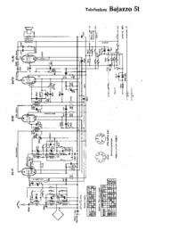 Diagrama cirquit Telefunken Bajazzo 51