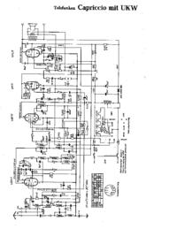 Diagrama cirquit Telefunken Capriccio