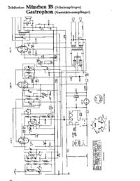 Cirquit diagramu Telefunken Gastrophon