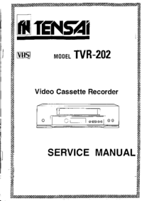 Manual del usuario Tensai TVR-202