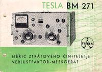 Service and User Manual Tesla BM 271