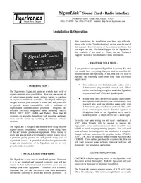 TigerTronics-6112-Manual-Page-1-Picture