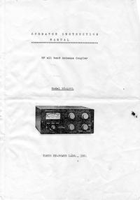 Serviço e Manual do Usuário Tokyohpl HC-400L