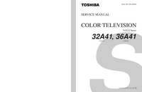 Service Manual Toshiba 36A41