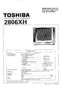 Service Manual Toshiba 1806XH