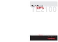 Bedienungsanleitung Toshiba TE2100