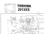 Schaltplan Toshiba 2013XS