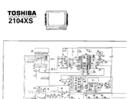 Diagrama cirquit Toshiba 2104XS