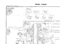 Cirquit Diagram Toshiba 2165XR