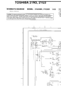 Схема Cirquit Toshiba 21N3