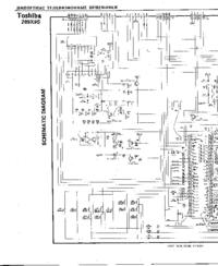 Cirquit diagramu Toshiba 289X9S
