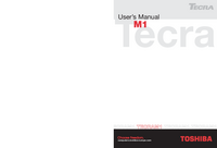 Manuale di servizio Toshiba M1