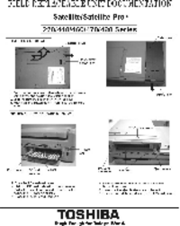 Service Manual Toshiba Satellite 440