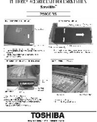 Service Manual Toshiba Satellite 2500CDS