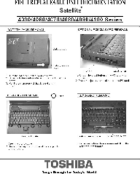 Manual de servicio Toshiba Satellite 4060 Series