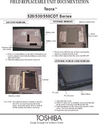 manuel de réparation Toshiba Tecra 530