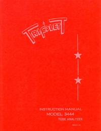 Service-en gebruikershandleiding Triplett 3444