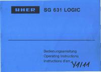 Manual del usuario Uher SG 631 Logic