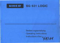 Uher-3840-Manual-Page-1-Picture