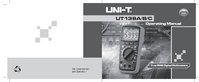 User Manual UniT UT139A