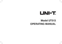 User Manual UniT UT513