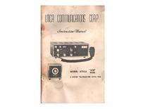 Serviço e Manual do Usuário Utica 650