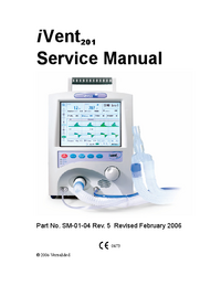 Service Manual VersaMed i Vent201