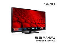 User Manual Vizio E320i-A0