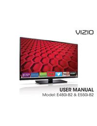 Instrukcja obsługi Vizio E480i-B2