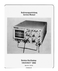 Service and User Manual Voltcraft 2040