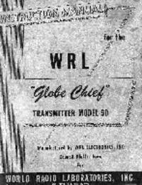 Servizio e manuale utente WRL Globe Chief 90