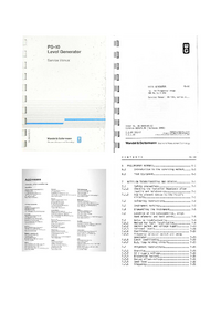 Service Manual Wandelgoltermann PS-10
