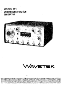 Wavetek-11101-Manual-Page-1-Picture