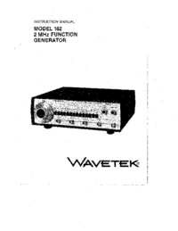 Wavetek-11104-Manual-Page-1-Picture